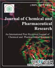 Journal of Chemical and Pharmaceutical Research